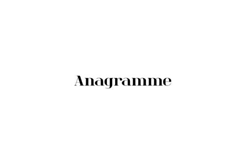 Anagramme est un studio de décoration d'intérieur avec qui je travaille sur leur communication digitale